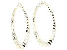 Superstud Hoop Earrings