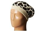 KNH3316 Leopard Knit Beret