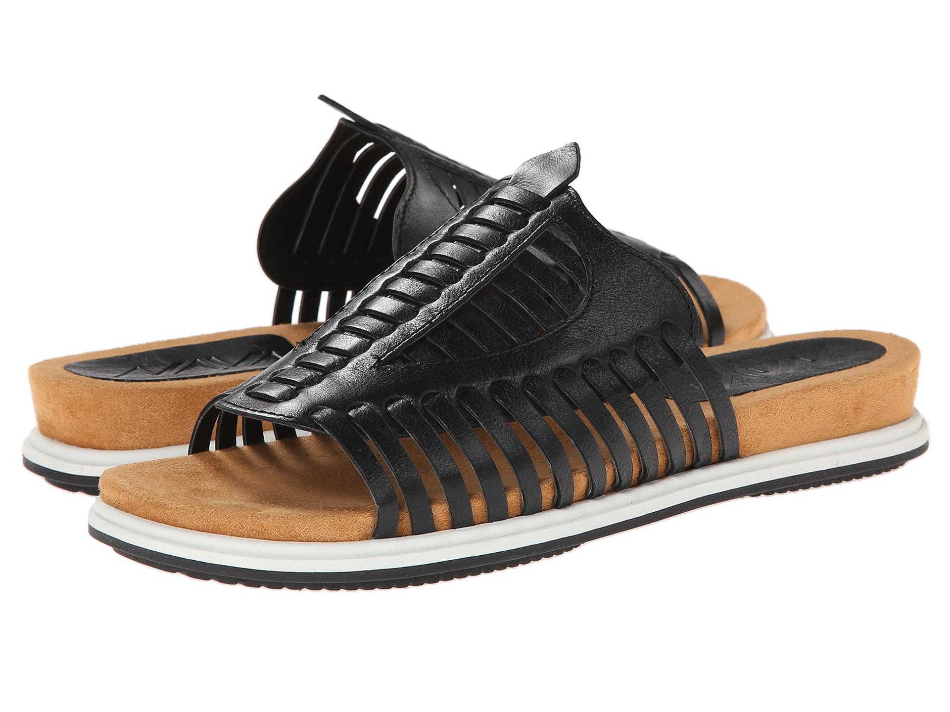 Black kicker sandals - Black Kicker Sandals 35