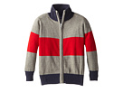 Block Stripe Zip Sweater (Toddler/Little Kids/Big Kids)