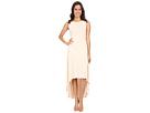 Fara High Low Dress w/ Twist Open Back