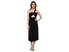 One Shoulder Strap Front Cutout Bandeau Dress