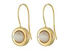 Gemstone Cone Drop Earrings