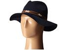 KNH8011 Knit Fedora Hat with Suede Band