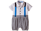 Logo One-Piece with Overalls (Infant)