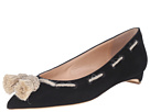 Jamal Suede Flats with Tassels