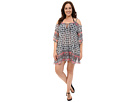 Plus Size Belly Dancer Tunic Cover-Up