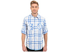 Beachhouse Plaid Combed Cotton and Vintage Wash Long Sleeve Shirt