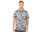 Island Time Short Sleeve Shirt w/ Contrast