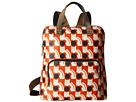 Poppy Cat Print Backpack Tote