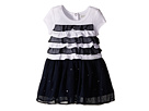 Dress with Ruffled Top & Chiffon Skirt with Rhinestones (Infant/Toddler)