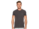 Weathered Button Crew Tee
