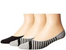 Boat Shoe 3-Pack Liner Socks
