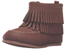 Fringe Suede Bootie (Infant/Toddler)
