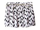 Loose Printed Shorts with Gold Plaited Belt (Toddler/Little Kids)