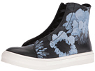 Floral Painted High Top Sneaker