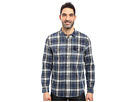 Summit Plaid Two-Pocket Western Shirt with Chambray