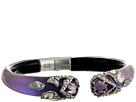 Crystal Encrusted Mosaic Lace Brake Hinge w/ Fancy Cut Shields Bracelet
