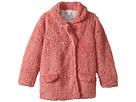 Dusty Rose Fluffy Jacket (Infant/Toddler/Little Kids/Big Kids)