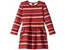 Stripe Fleece Dress (Infant/Toddler/Little Kids/Big Kids)