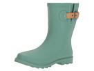 Top Solid Mid Rain Boot