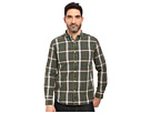 Oxford Washed Plaid Long Sleeve Woven Shirt