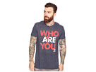 Who Are You Short Sleeve Tri-Blend Tee