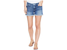 Asha Mid-Rise Cuffed Five-Pocket Shorts in Reigning