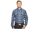 Long Sleeve Plain Weave Plaid Double